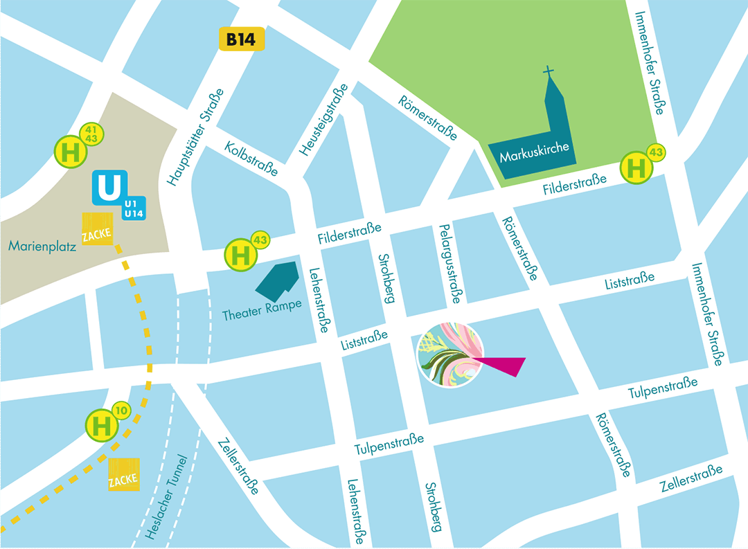 Mein Laden liegt im Stuttgarter Süden, Ecke Liststraße/Strohberg